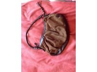 Leather handbag from Clarks