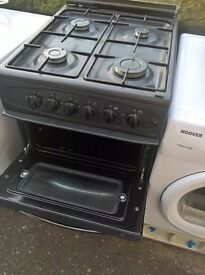 black Gas Cooker 50cm.....Mint Free delivery