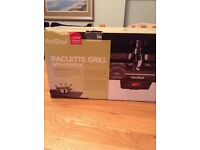 VonShef Raclette Grill with Fondue Set - Boxed Unused