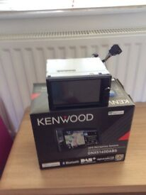 Kenwood entertainment centre plus GPS
