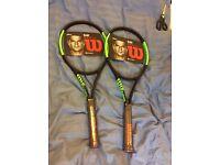 Six new Wilson Blade 98 CV 16x19 (grip 4)