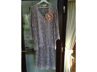 Mother of Bride Lace Dress & Jacket Size 14-16