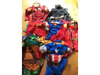 BUNDLE OF KIDS DRESSING UP COSTUMES AGE 7-8 YEARS