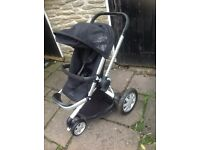 Quinny buzz extra pushchair in black