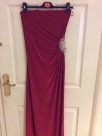 S/m clingy maxi dress