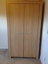 Pine Double wardrobe delivered
