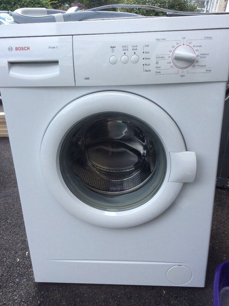 bosch maxx 5 1200 washing machine in tavistock devon gumtree. Black Bedroom Furniture Sets. Home Design Ideas