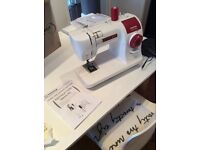 Sewing machine - Toyota SP10 Series sewing machine - approx. 4 years old but virtually unused