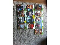 Xbox 360 one controller, cables & games (£40)