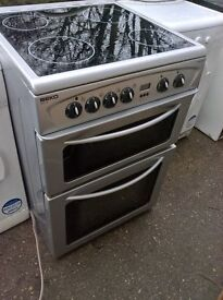 Silver Ceramic Electric cooker 60cm...Mint Free delivery