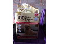 Brand new 100 puppy pads