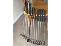Full set ladies golf clubs with carry bag, used 3 times