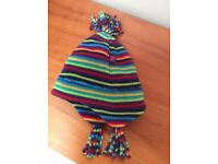 VGC Mothercare and Bon Maman Baby Childrens Woollen Winter Hats