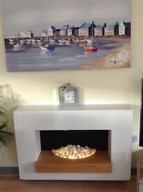 Blyss Electric Fire and Surround
