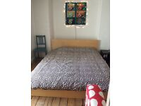 King size IKEA malm bed - mattress and Frame complete bed - RRP £595