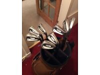 TITLEIST 762 IRONS 3 -PW RIFLE 6.0 SHAFTS, GREAT CLUBS