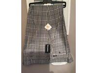 46L Golf Trousers - Stromberg - Funky Black & White check - BNWT