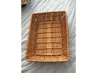 Selection various sizes Wicker Baskets