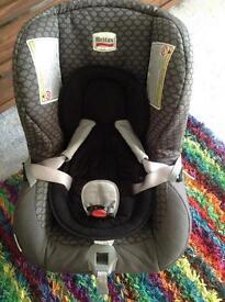 Britax newborn / birth to approx aged 4 car seat rearward and forward facing 0-18kgs group 0+-1