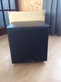 WHARFEDALE DIAMOND POWERED SUBWOOFER CINEMA AD ON BRAND NEW BOXED WITH INSTRUCTIONS, NO SWAPS