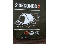 Quechua 2 second pop up tent