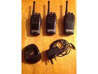 3 x HYT TC-620 professional Walkie Talkie Radios for Sale
