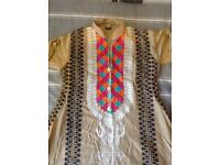 Ladies 3 piece medium shalwar suit new