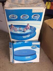 """Swimming Pool 12' x30"""" Intex Easy Set Pool"""