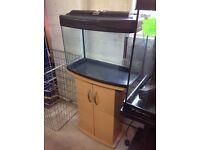Fish Bix Aquarium, Fish Tank and Stand