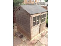 Children's Playhouse . 4x4 wooden garden playhouse