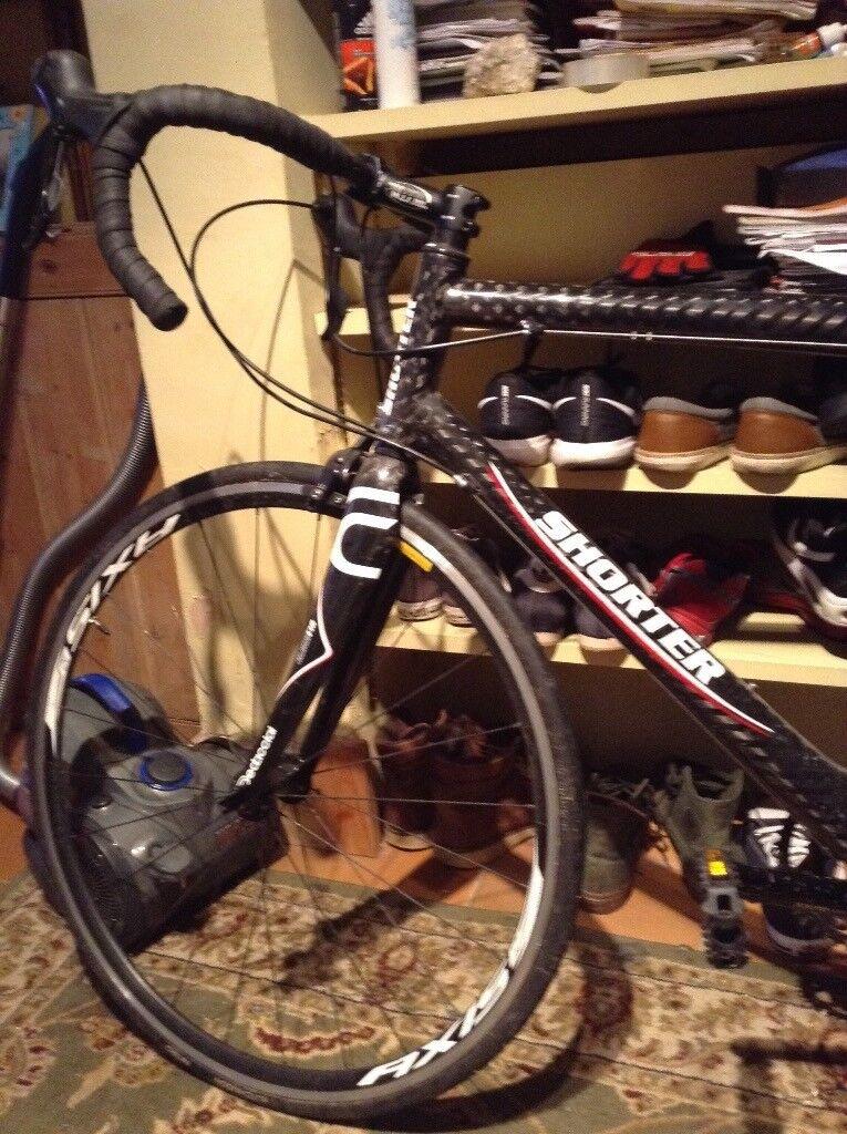 Road bike shorter Nero