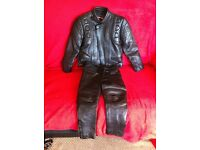 for sale Black children's leathers
