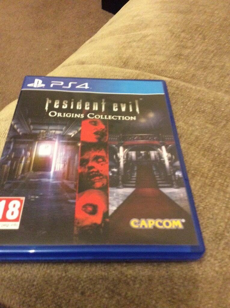 Resident Evil Ps4 Game