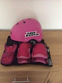 Childs safety helmet