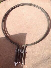 Tumble dryer element - round