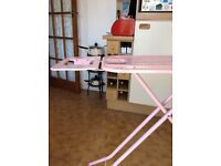 Large pink ironing board, cost over £30.00 from Argos.