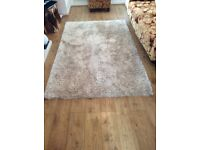 Dunelm Champagne Rug