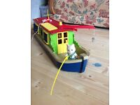 Sylvanians barge/canal boat