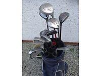 Set of Golf clubs
