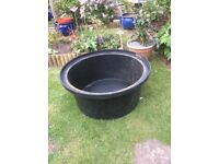 small pond or water feature