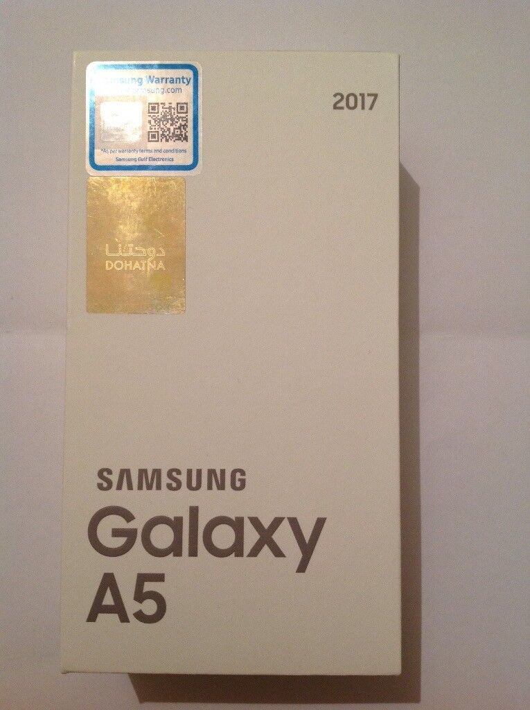32GB New Samsung Galaxy A5 2017 Dual SIM - Black - SIM Free - Unlocked