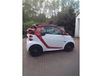 Smart Cabriolet. 64 plate in excellent condition.