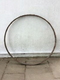 Cart Wheel, presumably iron