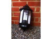 Garden wall lanterns (new) ideal cottage.
