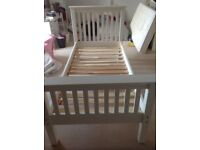 Single child's bed frame (M&S, solid wood)
