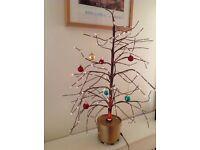 Twig fibre optic Christmas tree £6.50