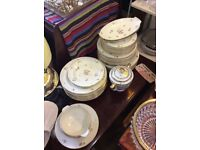 Limoges Dining Set for 6 with spare plates
