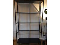 IKEA shelving unit, shelves, VITTSJO design