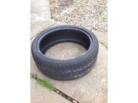 Continental tyre used 225 40 19