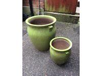 Garden Pot x 2